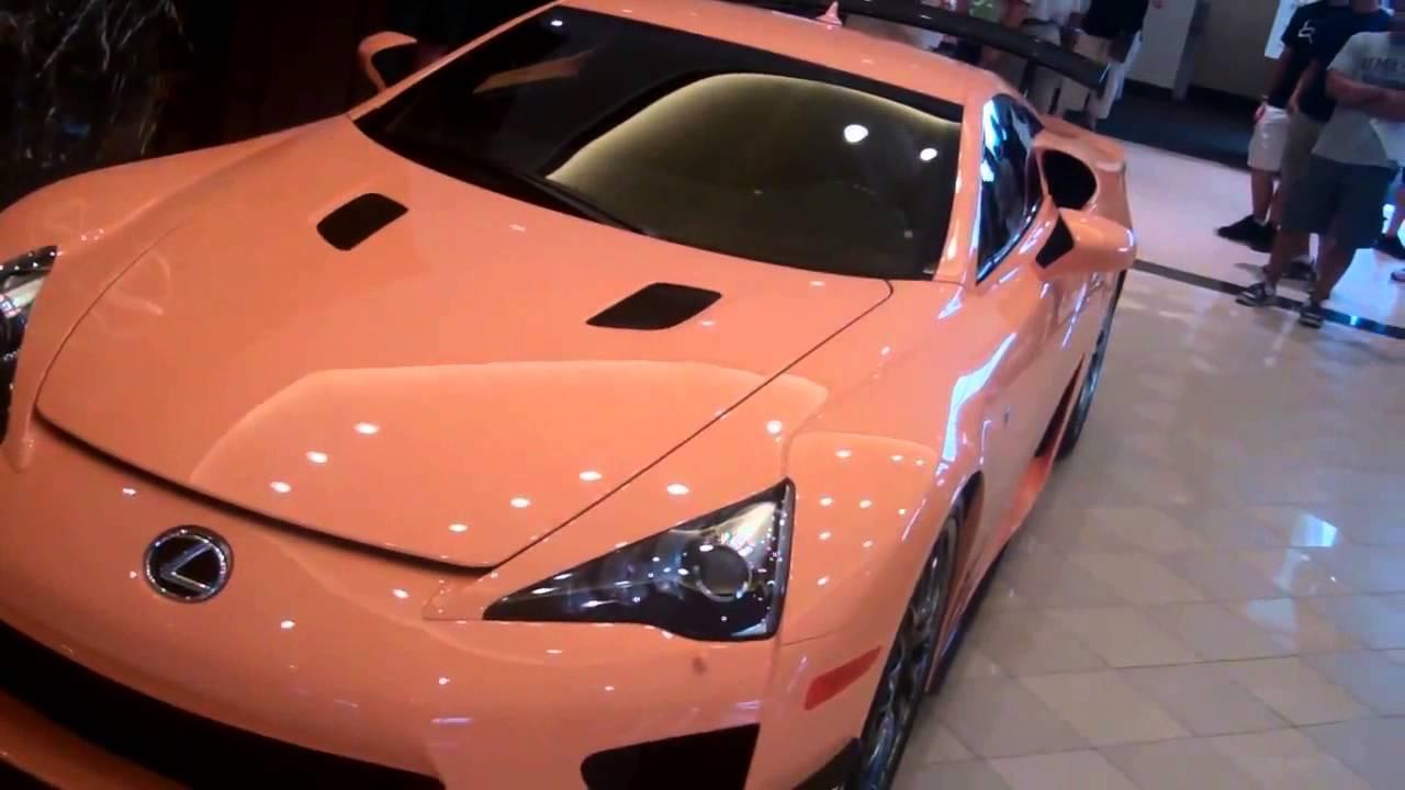 Balise Lexus Lfa Youtube