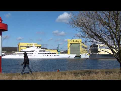 AZZAM - Largest Yacht In The World (180m)!