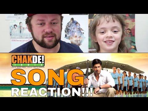 Chak De India TITLE SONG REACTION!!!