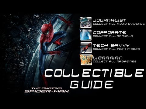 The Amazing Spider Man - Collectible Guide (All Collectible Locations)