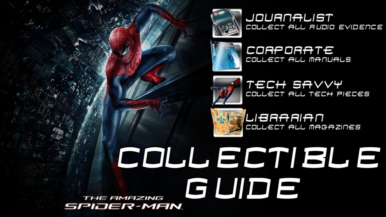 The Amazing Spider-Man Chapter 3 Collectibles Guide ...