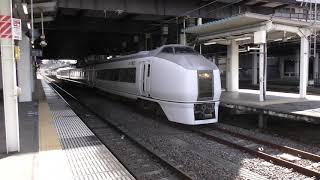 回8724M 651系 K201編成 水戸駅発車