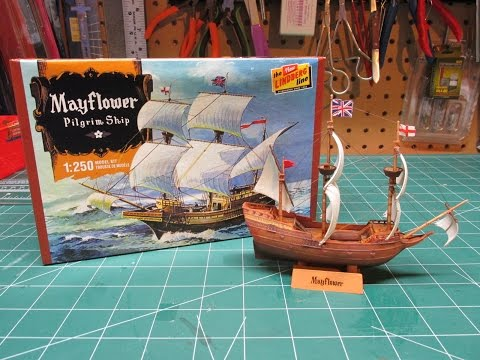 Lindberg Mayflower Thanksgiving Model Ship Build Review