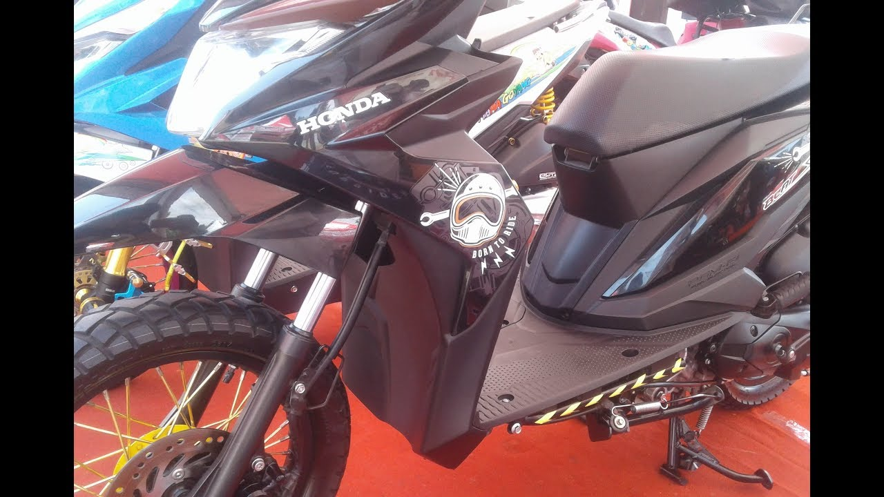 Modifbiker Gambar Modifikasi Motor Beat Street Ring 17 2019