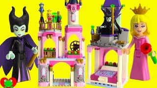 Disney Princess Sleeping Beauty's Fairytale Castle Lego 41152 Build