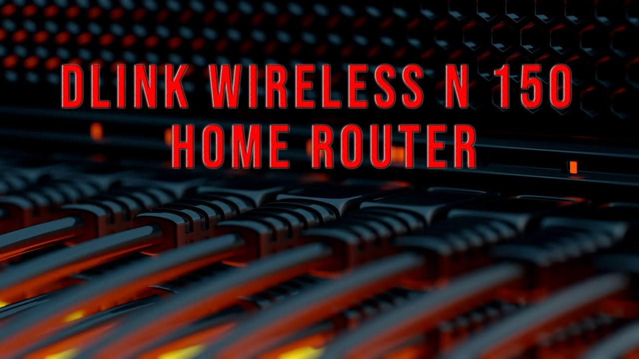 Dlink Wireless N 150 Home Router Youtube D Link Dir 600m