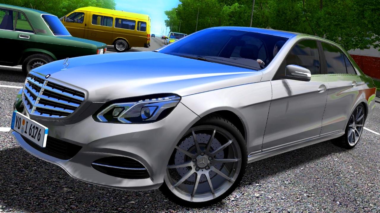 City Car Driving 1 5 3 Mercedes Benz E Class Download Link Hd