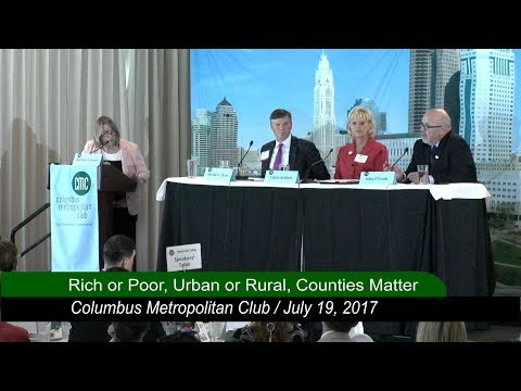 Columbus Metropolitan Club:  Rich or Poor, Urban or Rural, Counties Matter