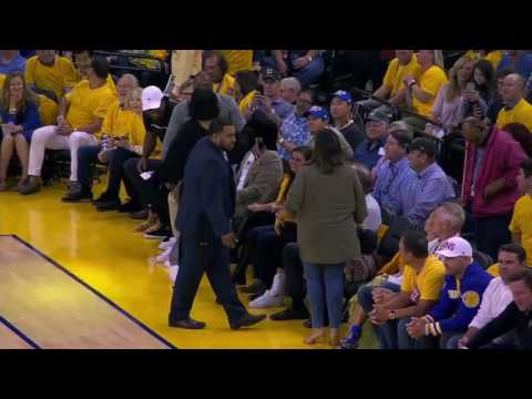 LeBrons Epic Dunk Ends Before Rihanna Steals The Show  Game 1  June 1  NBA Finals