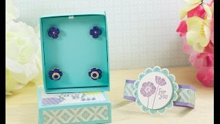 Stampin' Up! Au - Earring Jewellery Gift Box