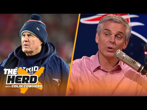 Colin Cowherd predicts the Patriots' schedule after signing Cam Newton | NFL | THE HERD