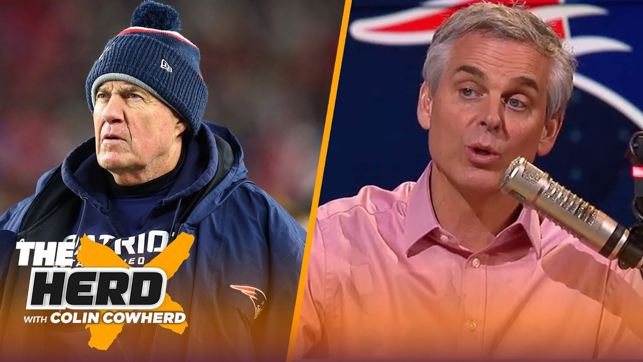 Colin Cowherd predicts the Patriots' schedule after signing Cam Newton   NFL   THE HERD - The Herd with Colin Cowherd thumbnail