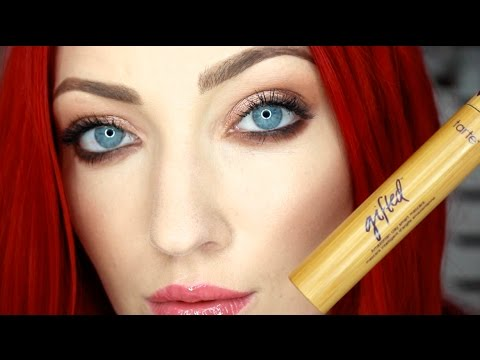 tarte gifted amazonian clay smart mascara review demo youtube