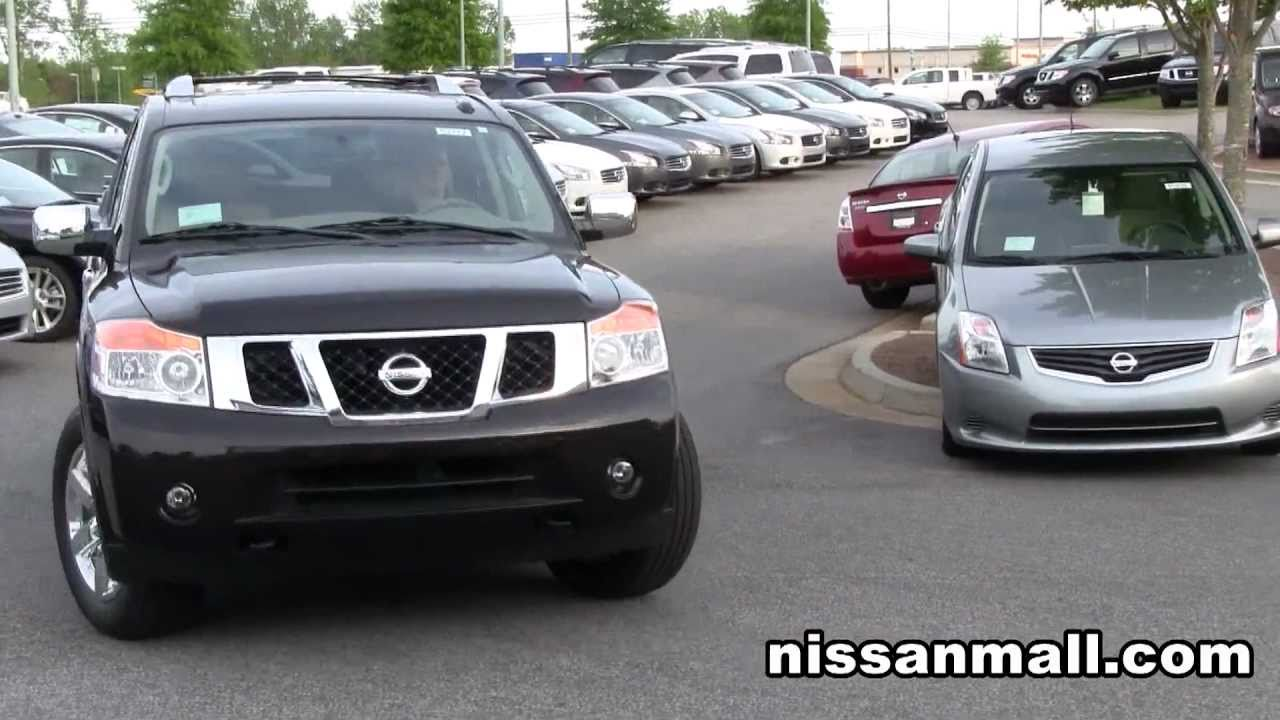 Exceptional 2011 Nissan Armada Platinum Edition Review   YouTube