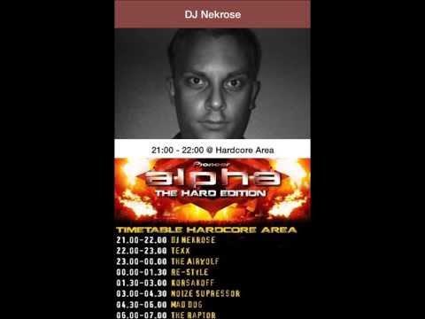 DJ Nekrose @ Pioneer Alpha Hard Edition 26.10.13 HardcoreArea Ziegelei Groß Weeden