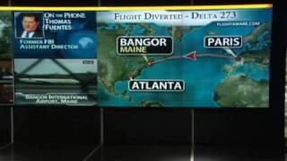 U.S.-bound flight diverted