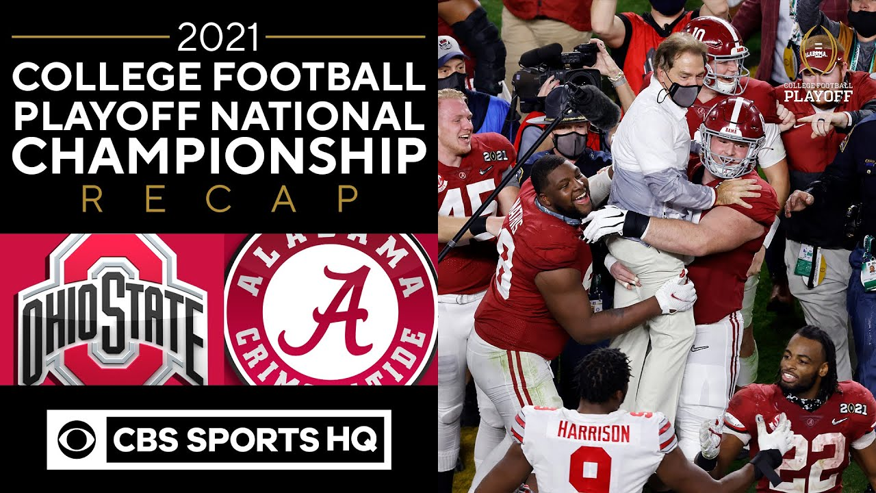 Alabama vs. Ohio State game 2021: Tide roll to 18th national ...