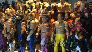 WWE MATTEL COLLECTION | WWE Figure Display