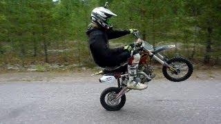 ycf 150 pit bike ride for fun