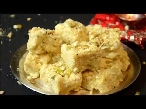 Download Youtube: kalakand Recipe - Quick kalakand in 10 minutes - Diwali Sweets