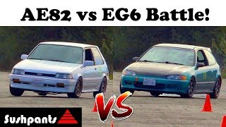 4AGE and B18 battle on track!