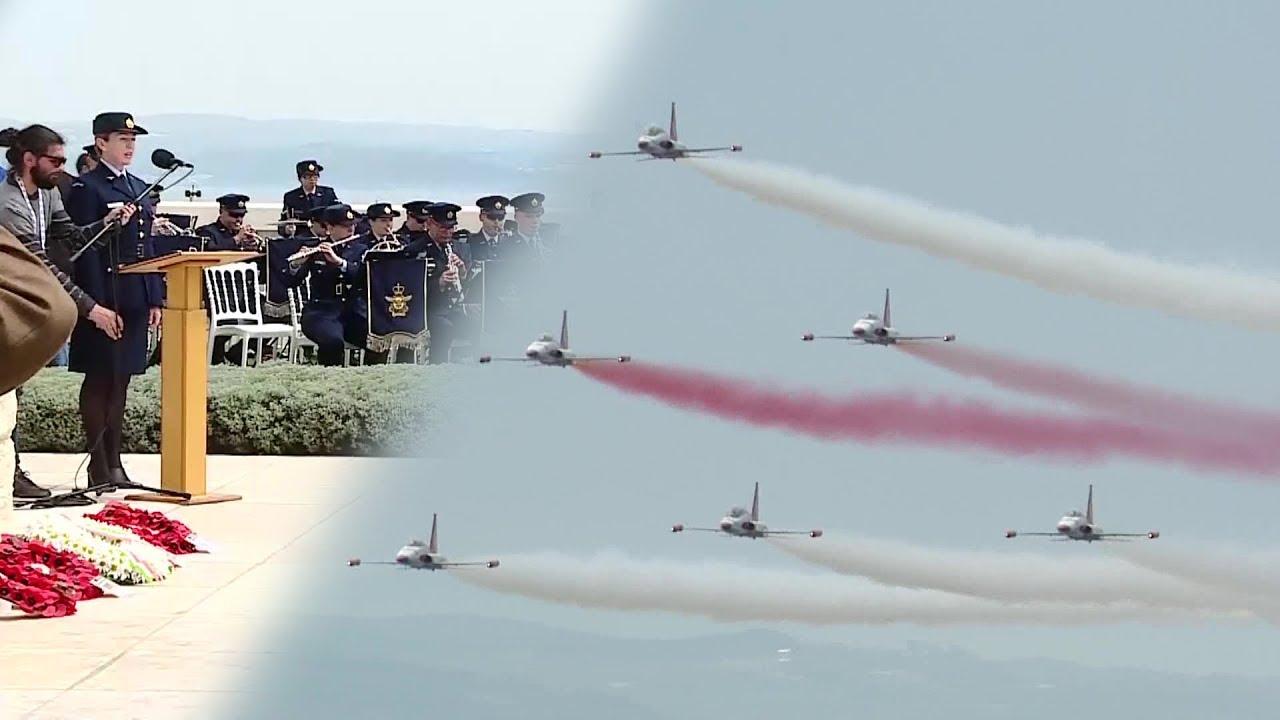TURKISH STARS (Türk Yıldızları) Çanakkale / Kadın ingiliz askere dikkat!