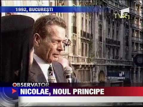 HRH Prince Nicholas of Romania (Antena 1 TV)