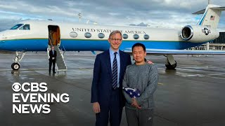 Chinese-American grad student freed from prisoner swap after 3 years in Iranian prison