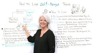 How to Lead Self-Managed Teams - Project Management Training