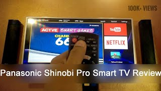 Panasonic Shinobi Pro 43 inch FHD Smart LED TV Review | HD |