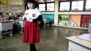 Pantomime FLS2N 2017 tema Sekolah