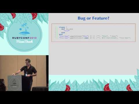 Ruby Conf 2013 - Ruby-Core dilemmas by Marc-André Lafortune
