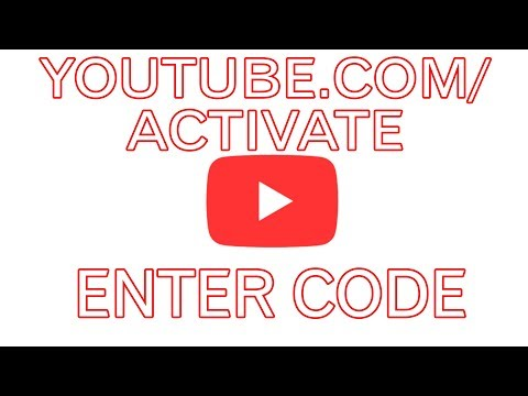 youtube.com/activate enter code