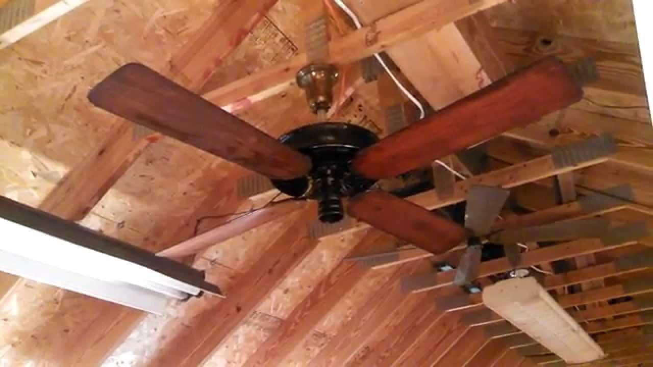 "emerson ""longnose"" antique ceiling fan - youtube"