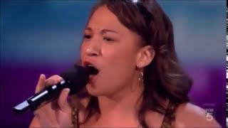 Melanie Amaro Listen by Beyoncé (FULL VERSION UNEDITED) X Factor USA