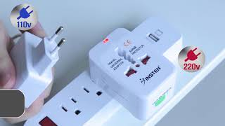 Insten Worldwide Travel Adapter