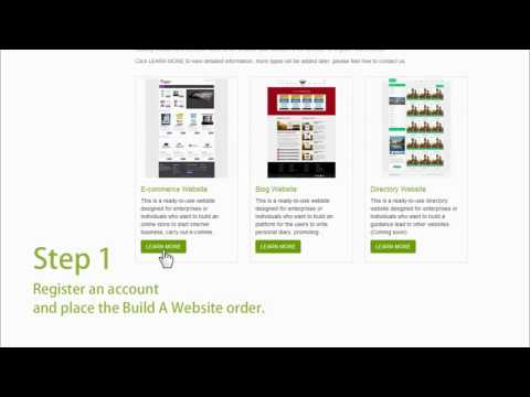 3 Steps to Get An Instant E-commerce Website