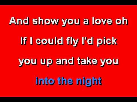 Benny Mardones  - Into The Night - Karaoke