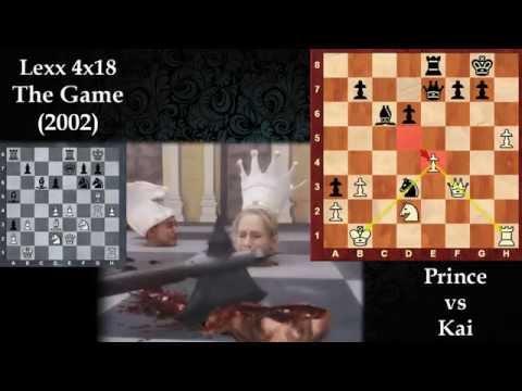 CINEMA SCACCHI 36 - Lexx 4x18 - The Game (Space Chess Madness) La Bourdonnais vs McDonnell