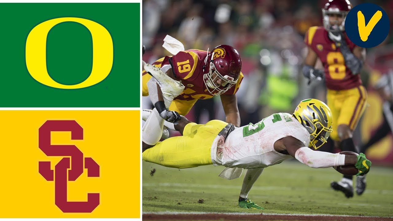#7 Oregon vs USC Highlights | Week 10 | College Football 2019