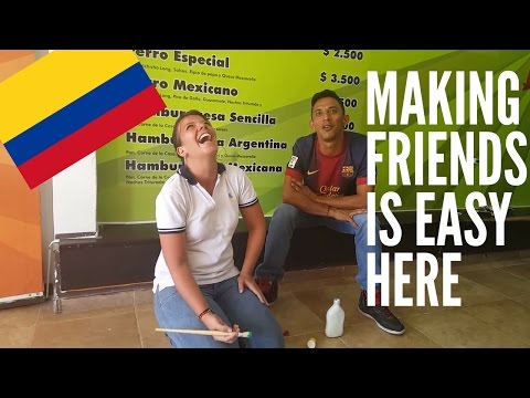 Why Making Friends is Easy in Colombia (SUBTITULADO) [#32]