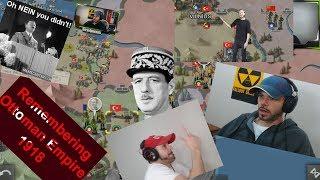 Remembering Ottoman Empire;  European War 4 WWI Mod (Highlights)