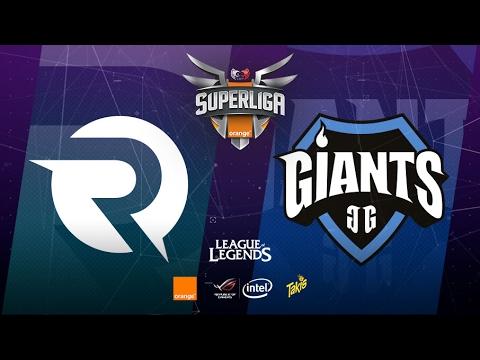 Origen Esp vs Giants Only the Brave - #SuperligaOrangeLoL - Mapa 2 - Jornada 1 - T12