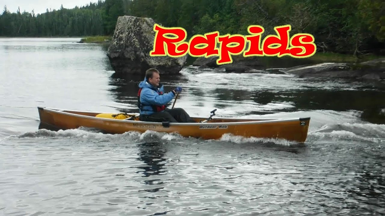 Solo Canoes Wenonah Wildlife Quetico Park Back Country 3 day