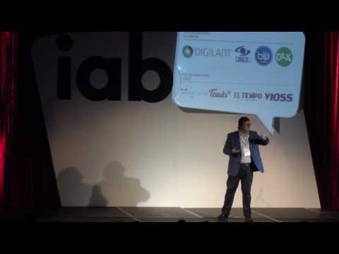 Josep Salvatella en el IABDay 2017 (Colombia)