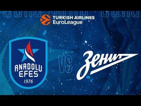 Zenit - Anadolu Efes 21.01.2021 Full Euroleague