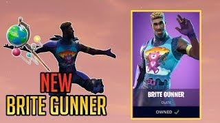NEW Brite Gunner Skin! | FORTNITE GAMEPLAY MOMENTS