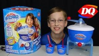 Dairy Queen Blizzard Ice Cream Maker Machine