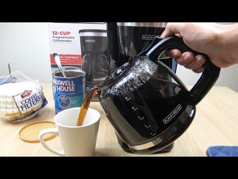 black-+-decker-12-cup-programmable-coffeemaker-demo