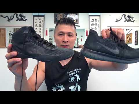 Running Shoes Vs. Wrestling Shoes For Martial Arts